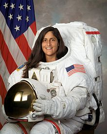 Sunita Williams. Image credit NASA