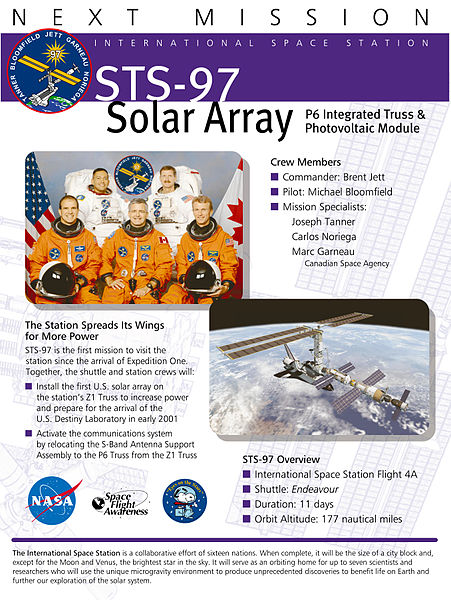 STS-97 Fact Sheet