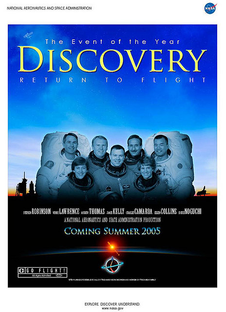 Discovery Return to Flight Poster