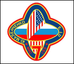 The Expedition 7 Patch. Image credit NASA