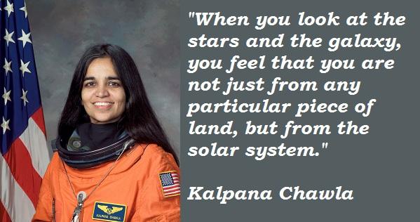 Kalpana Chawla Quote