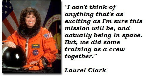 Laurel Clark quote