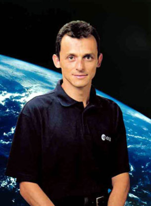 Pedro Duque official photo. Image credit European Space Agency