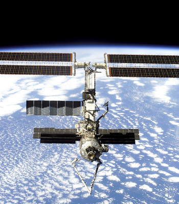 The Space Station can now wave goodbye to departing spacecraft. Image credit Canadian Space Agency