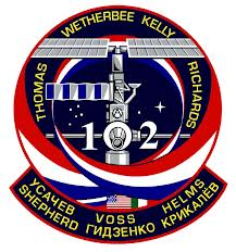 STS-102 patch. Image credit NASA