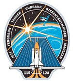 STS-115 patch. Image credit NASA