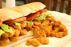 The Shrimp Po'Boy. Image credit Original Po'Boys