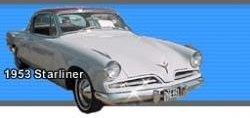 A 1953 Starliner. Image credit: The Studebacker Drivers Club