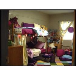 What do you want your dorm room to look like? Image credit Chegg Blog