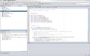 Netbeans KDE Screenshot. Image credit Netbeans Forum