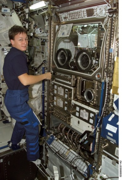 Peggy Whitson, first ISS Science Officer. Image credit Universe Today