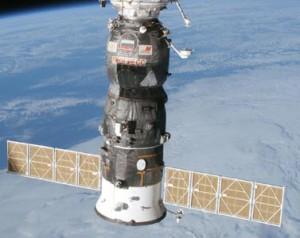 Progress M1-4. Image credit Gunter's Space