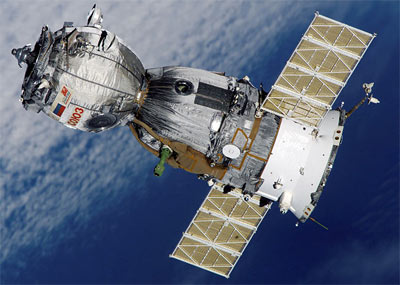Soyuz TMA-1. Image credit Gunter Space Page