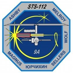 STS-112 patch