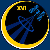 Expedition 16 Patch. Image credit NASA