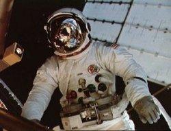 Jack Lousma during EVA #1. Image credit Astronautix