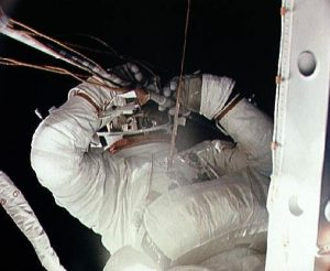 Another photo from the EVA. Image credit Astronautix