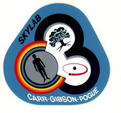 The Skylab 4 patch. Image credit NASA