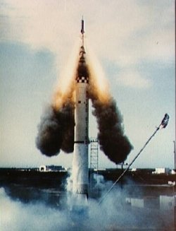 When testing a new technology, sometimes things go wrong in a dramatic fashion. Image credit Spacecraft Encyclopedia