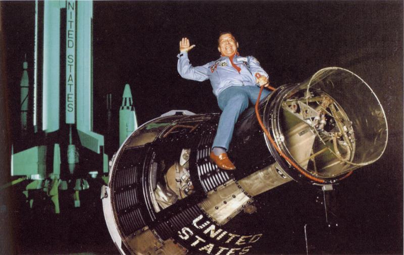 Ride 'em, Space Cowboy! Image credit Heroic Relics