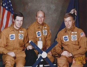 The Skylab 2 Crew. Image credit SpaceFacts.de