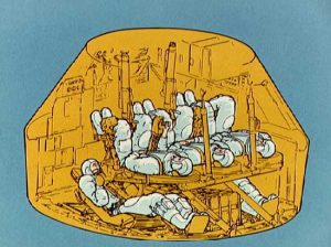 What the interior of a rescue command module might have looked like. Image credit Galaxy Wire
