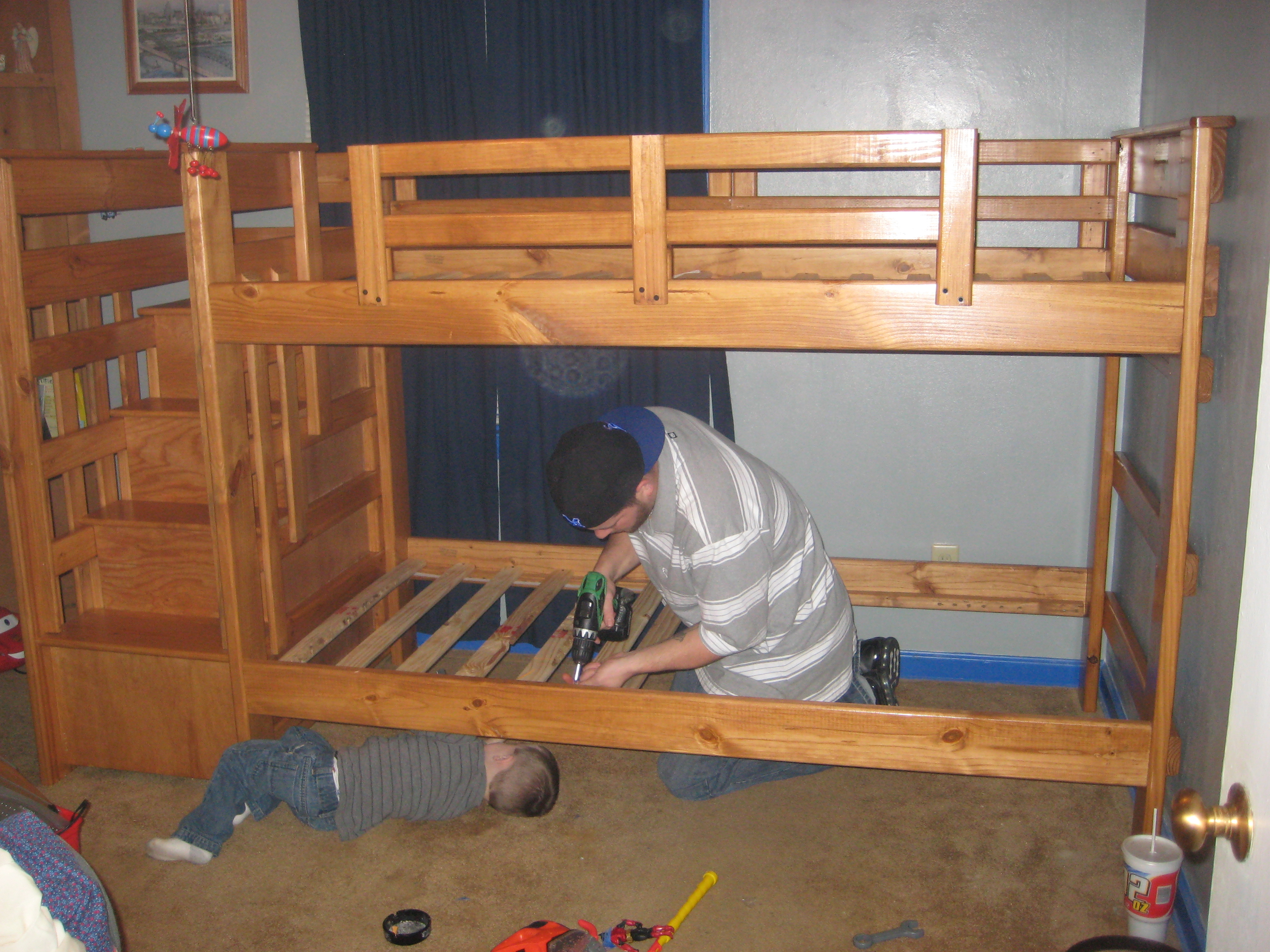 Assembling Your Child S Bunk Bed Nothing In Particular Blog