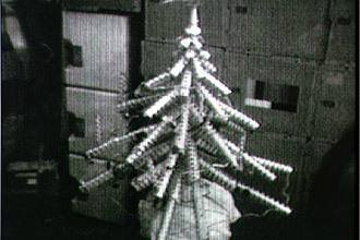 The Skylab Christmas tree. Image credit NASA