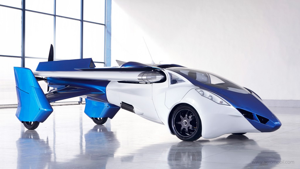 A Flying Car Could Be Part Of Your Future