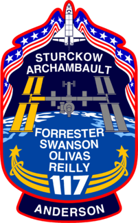 Clayton Anderson Arrives on STS-117