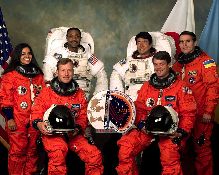 STS-107 Official Crew Photo