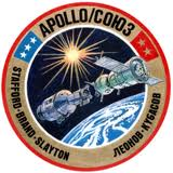 Apollo Soyuz Test Project Patch