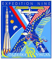 Expedition 9 patch. Image credit Space Facts