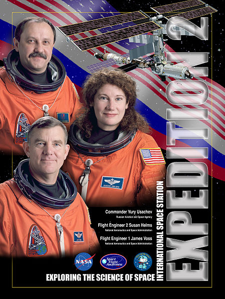 Expedition 2 Crew Poster.