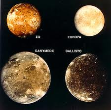Jupiter's moons. Image credit: One Minute Astronomer