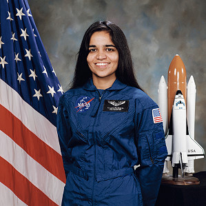 Kalpana ChawlaNASA official photo