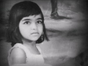 Kalpana Chawla as Child