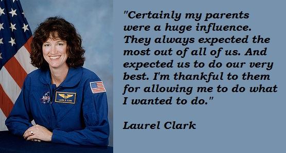 Laurel Clark quote