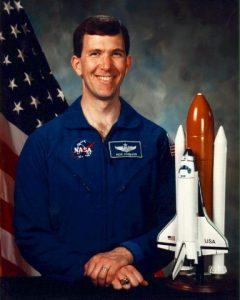 NASA Official Photo of Rick Husband. Image credit Wikimedia