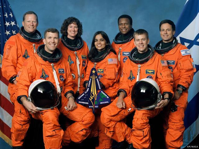 STS-107-crew
