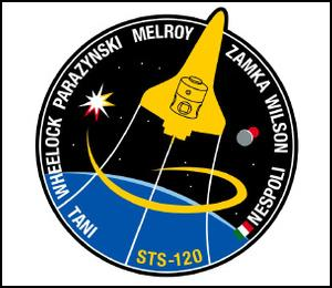 STS-120 Patch. Image credit NASA