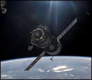Soyuz TMA-7. Image credit NASA