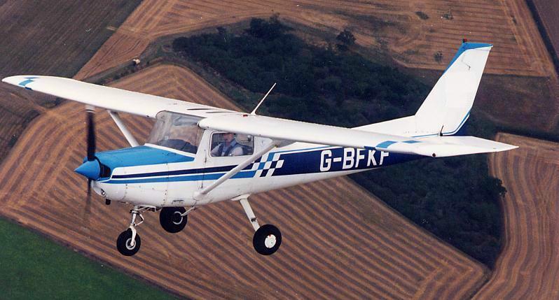 The Cessna 152. Image credit Blue Skies Flight Training