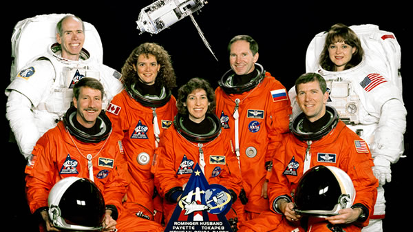 Official STS-96 Crew Picture. Image credit NASA