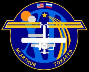 Expedition 12 patch. Image credit CollectSpace