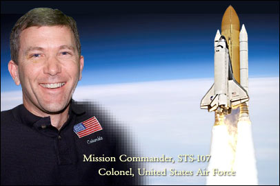 Rick Husband memorial picture. Image credit NASA
