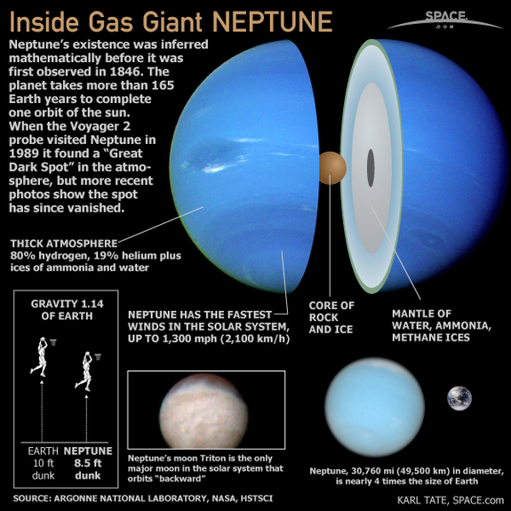 Quick facts about Neptune