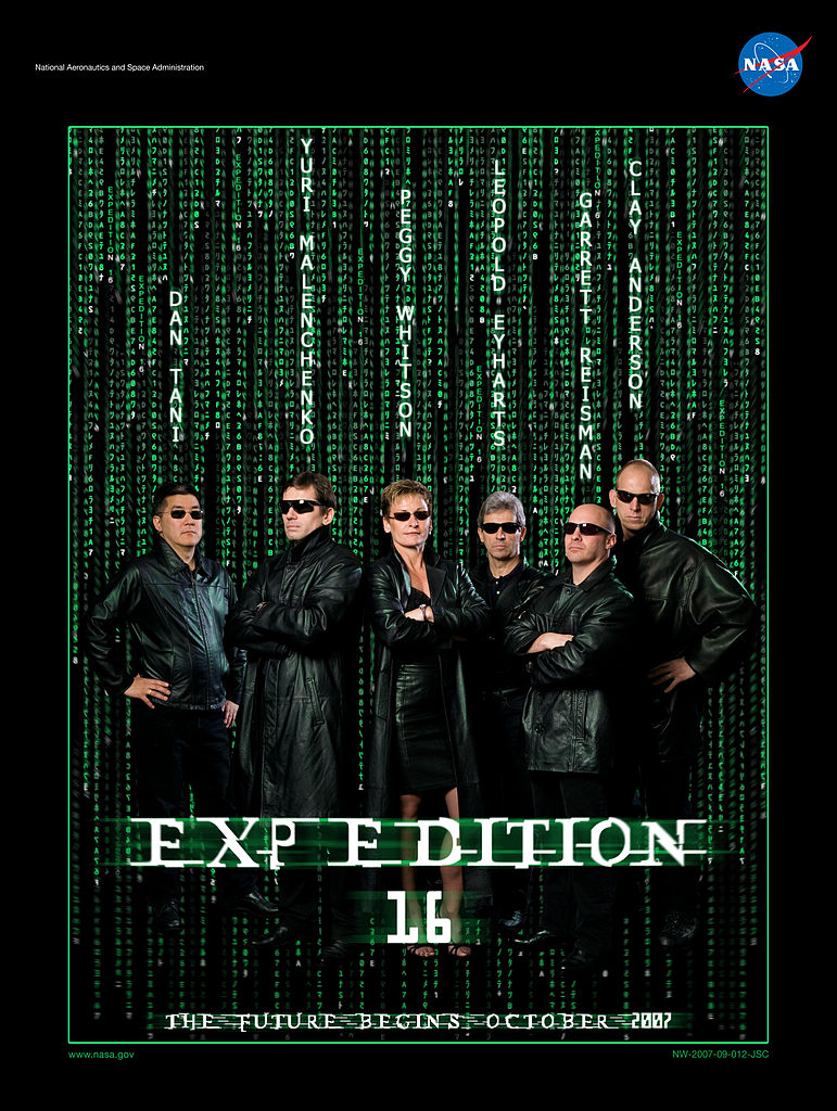 Expedition 16 Poster. Image credit Wikimedia