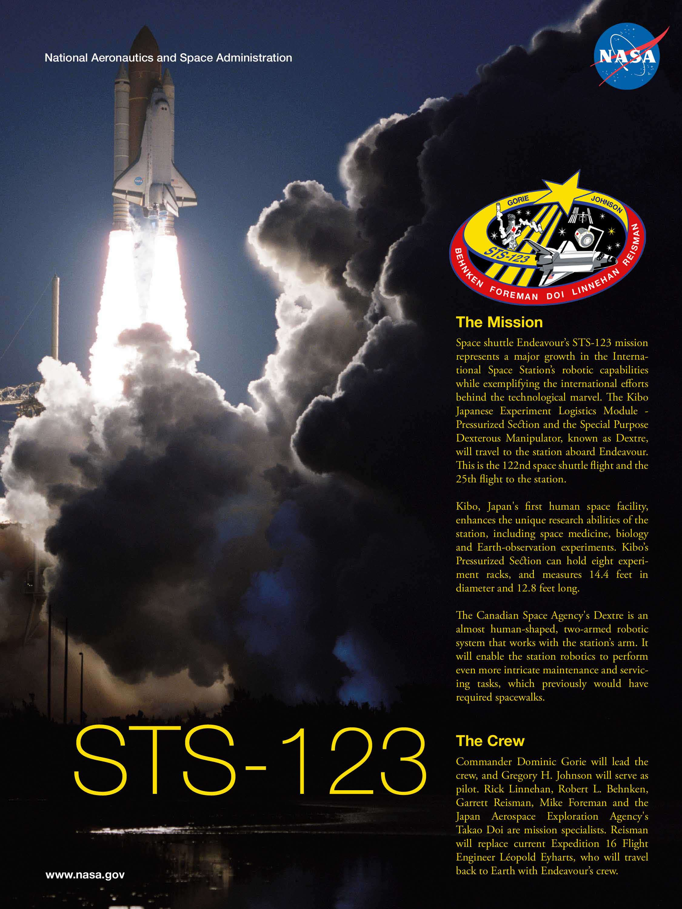STS-123-mission