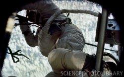 Skylab 2 handles an EVA. Image credit Science Photos